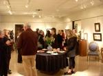 Saks Galleries crowd