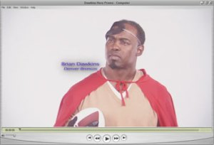 Kempe Superhero Brian Dawkins, Denver Broncos