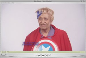Kempe Superhero Dr. Evie Dennis, Community Leader