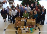Jackson National Life employees assemble Thanksgiving dinners for Kempe Families